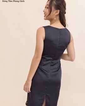 Đầm body ngắn tay